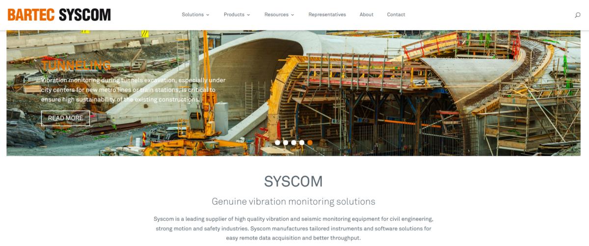 New Syscom website